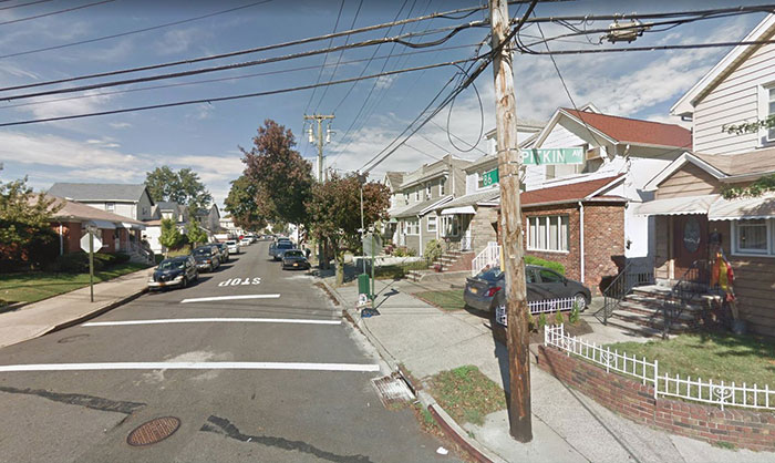 Creepy Crook Steals from  Ozone Park Pads