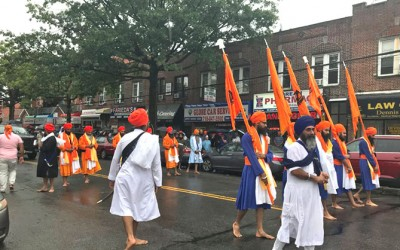 Sikhs Celebrate in  Richmond Hill