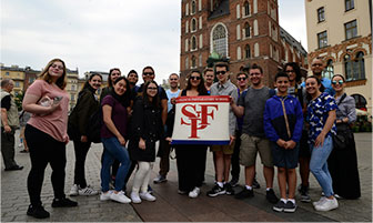 St. Francis Students  Travel the World