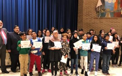 Miller Lauds Ozone Park School Readers