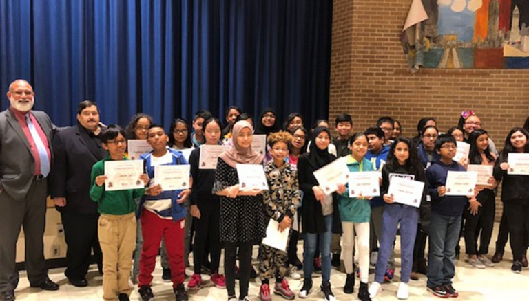 Miller Lauds Ozone Park School Readers