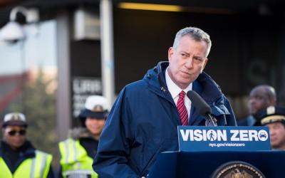 Mayor Announces Vision Zero Campaigns