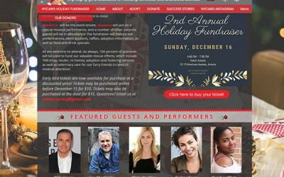 Animal Rescuers Set to Host Holiday Fundraiser