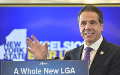 Cuomo Hails Opening of New Gates  at LaGuardia Airport