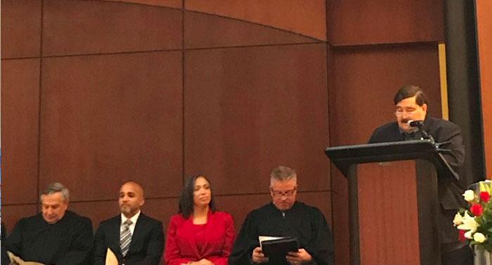 Borough Native Sworn in as Civil Court Judge