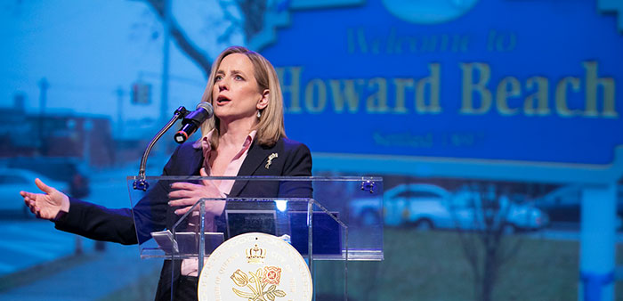 Katz Touts Queens in State of the Borough