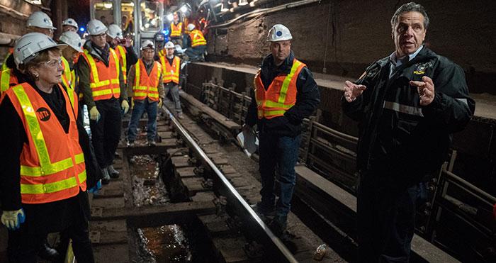 Cuomo, MTA Announce L Train Shutdown Averted
