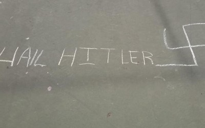 Nazi Graffiti Found at Borough School