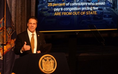 Congestion Pricing is Only Way to Save MTA: Cuomo