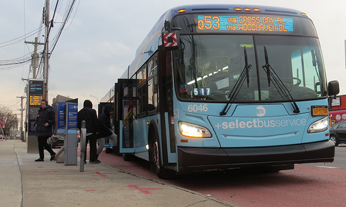 Q52 SBS is Only Route in NYC to Earn 'A' Grade  from Leading Straphanger Advocacy Group