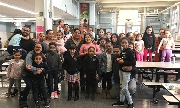 Dads, Daughters  and 'Dos at PS 97