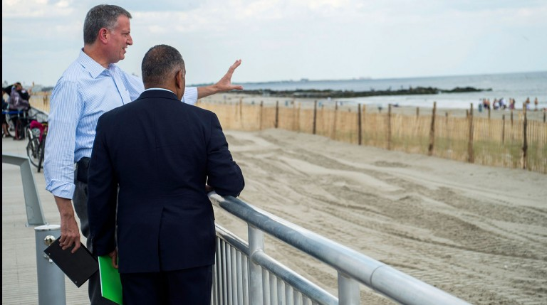 City, U.S. Army Corps of Engineers  Announce Partial Rockaway Beach Restoration