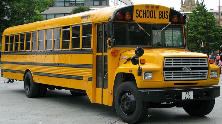 Legislation Would Authorize  New School Bus Safety Cameras