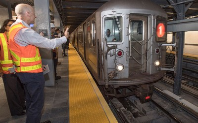 MTA Praises Progress  of Train Speed