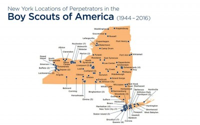 Leaders of Borough Boy Scout Units  in 'Perversion Files'