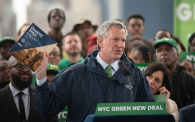 Mayor Lauds City's Ambitious $14B Green New Deal