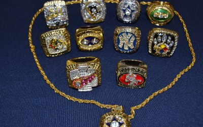 Officials Seize Phony Sports Rings