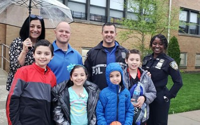 Howard Beach Cops and Kids Forge Bond  at Annual Meet & Greet