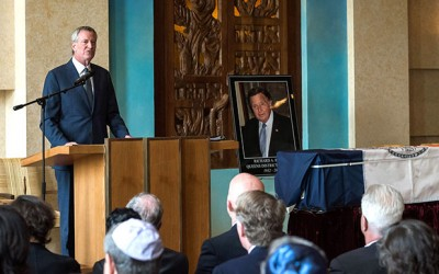 A Grateful Borough Bids Farewell to 'Judge Brown'