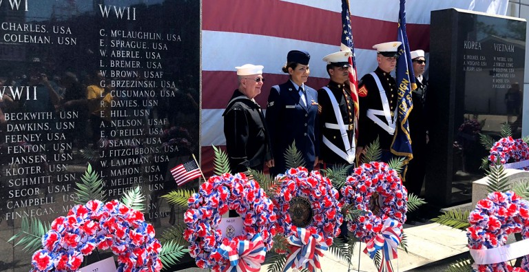A Community Commemorates:  Memorial Day in Howard Beach