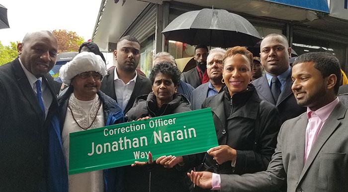 City Honors Slain Correction Officer