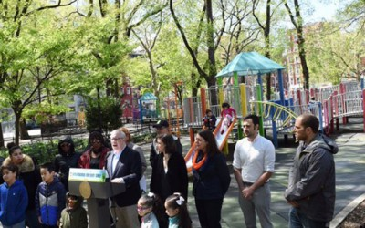 Stringer Report Tracks 'Severe Shortage'  of Playgrounds in the Five Boroughs