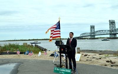 Ulrich Hosts Commemorative Ceremony  in Rockaway 100 Years after First Transatlantic Flight