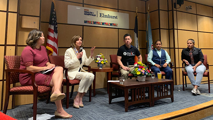 Borough Hosts Pelosi  for Immigration Meet