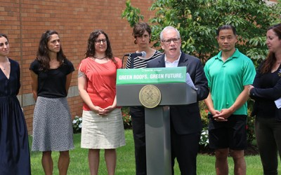 New Law a Boost to Green Roof Program: Pols