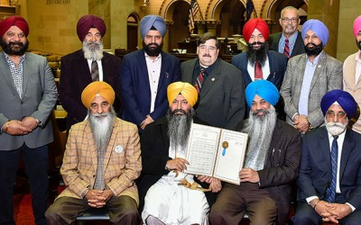 Sikhs Honored in Albany