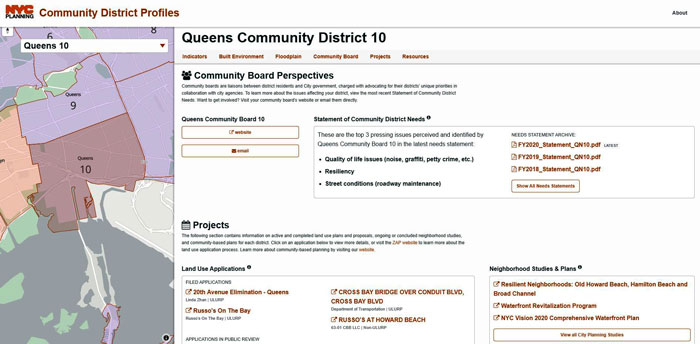 Administration Touts 'New and Improved'  Webtool for Community Boards to Submit Requests