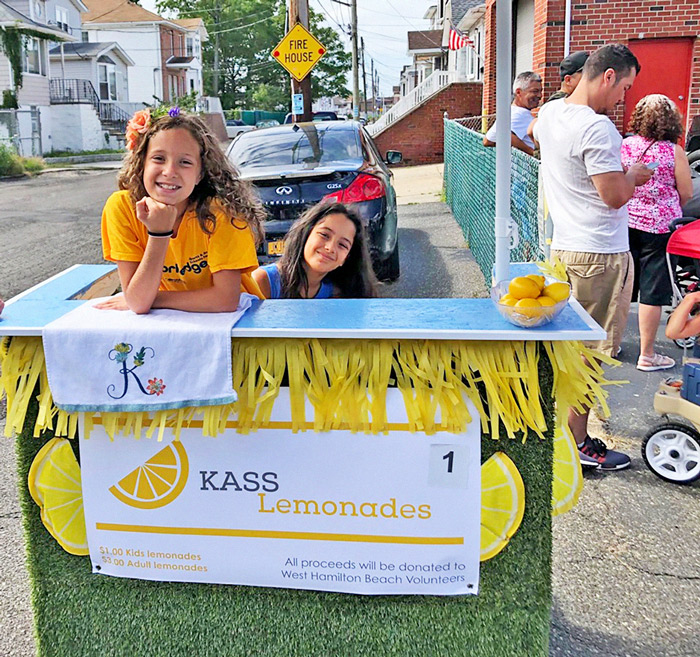 Photo Courtesy of Sen. Addabbo's Office Special thanks to Kass Lemonades for Sunday's sweet refreshments.