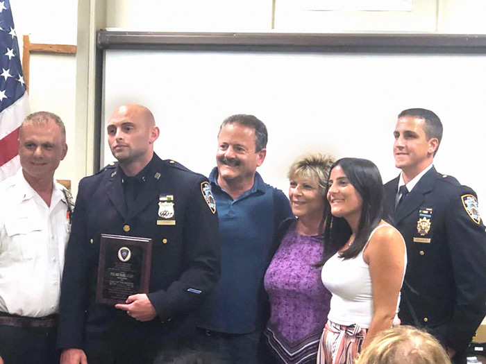 Cop of the Month Saves Fellow Finest