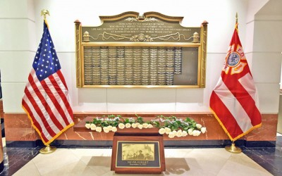 FDNY Adds More Names of Members who Died  from Sept. 11-related Illnesses to Memorial Wall