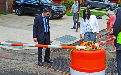Ulrich, DEP Tout Major Sewer Infrastructure  Upgrades in Lindenwood