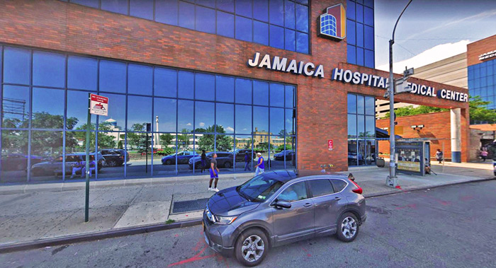 Photo Courtesy of Google Shooting victim Mohammed Uddin was rushed to Jamaica Hospital Medical Center, where he later died.