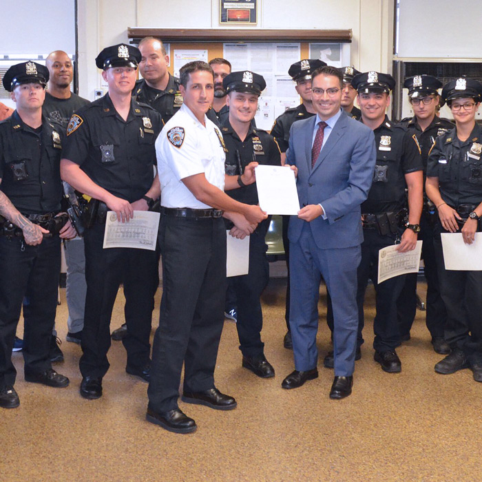 Ulrich Honors Area Cops