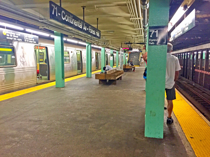 Manhattan Man Pleads Guilty  to Hate Crime Attack at Forest Hills Station