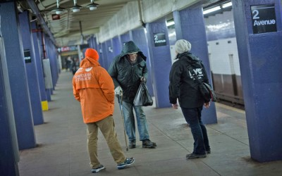MTA Announces Subway Homeless Plan