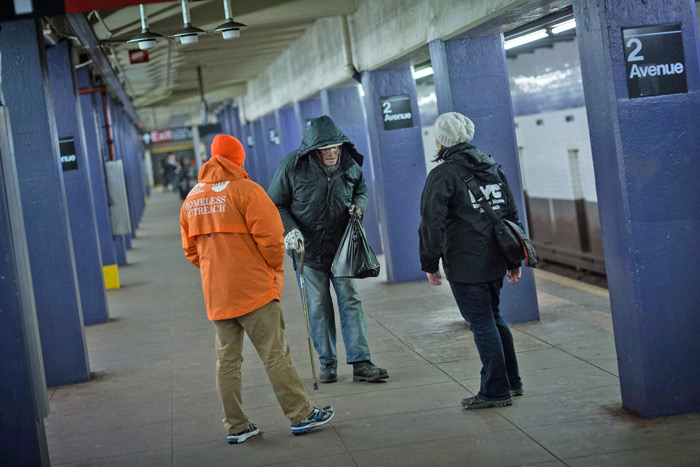MTA Announces Subway Homeless Plan