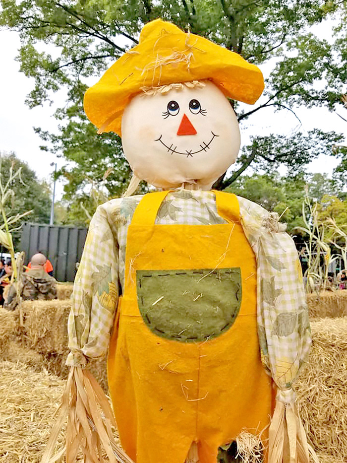 Photo Courtesy of Woodhaven Residents' Block Association Can't have a Fall Festival without a scarecrow!