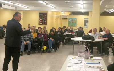 Addabbo Addresses Issues at Civic Meet