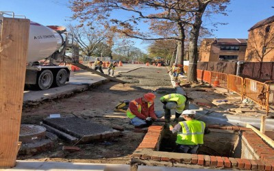 Lindenwood Infrastructure Project  Should be done 'by Thanksgiving Week': Ulrich