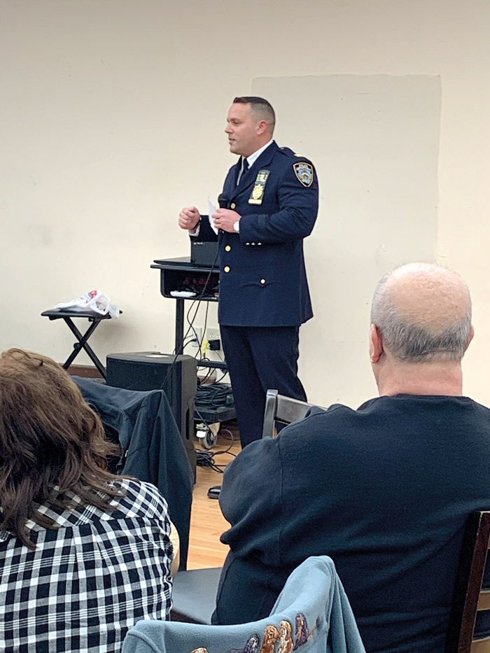 New Top Cop at 106th Precinct