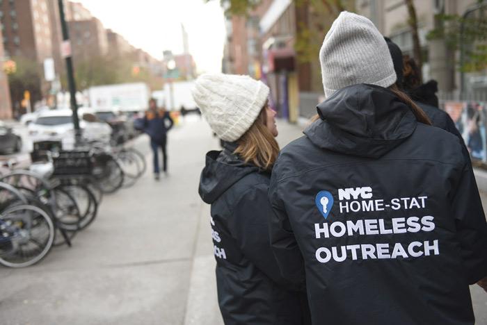 De Blasio Touts New Homeless Effort