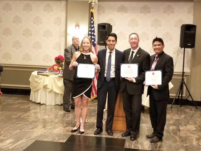 Civic Celebrates Woodhaven Leaders