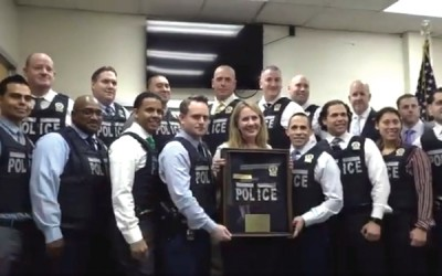 102nd Precinct Cops  Get New Vests