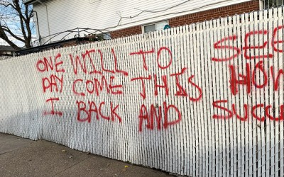 Lindenwood Homes Marred by Racist Graffiti