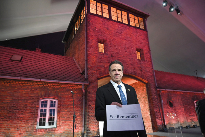"""Never Allow Such Hatred to Rise Again"":  Cuomo Helps Commemorate 75th Anniversary of Liberation of Auschwitz-Birkenau"