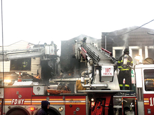 Ten Injured, Dozens of Lives Displaced after Disastrous Ozone Park Inferno